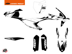 KTM 250 SX Dirt Bike Reflex Graphic Kit White