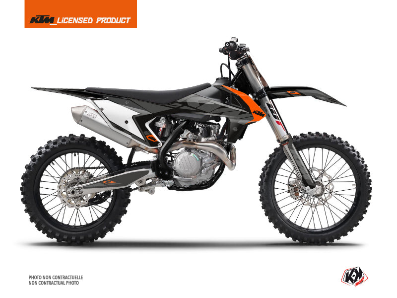 KTM 250 SX Dirt Bike Reflex Graphic Kit Black