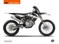 KTM 250 SXF Dirt Bike Reflex Graphic Kit White