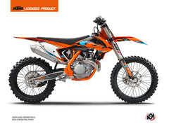 KTM 450 SXF Dirt Bike Reflex Graphic Kit Orange