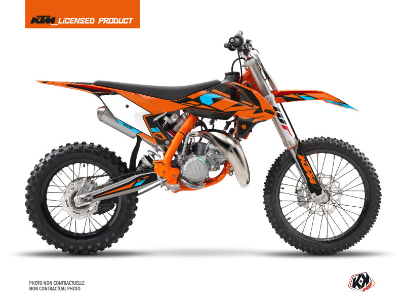 KTM 85 SX Dirt Bike Reflex Graphic Kit Orange
