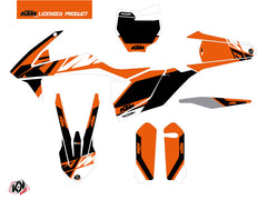 KTM 125 SX Dirt Bike Skyline Graphic Kit Orange