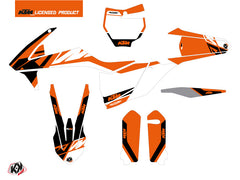 KTM 450 SXF Dirt Bike Skyline Graphic Kit Orange