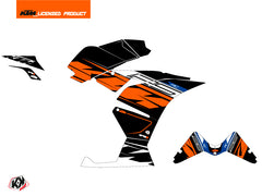 KTM 125 RC Spring Graphic Kit Black Orange