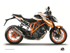 KTM Super Duke 1290 R Street Bike Stage Graphic Kit Orange