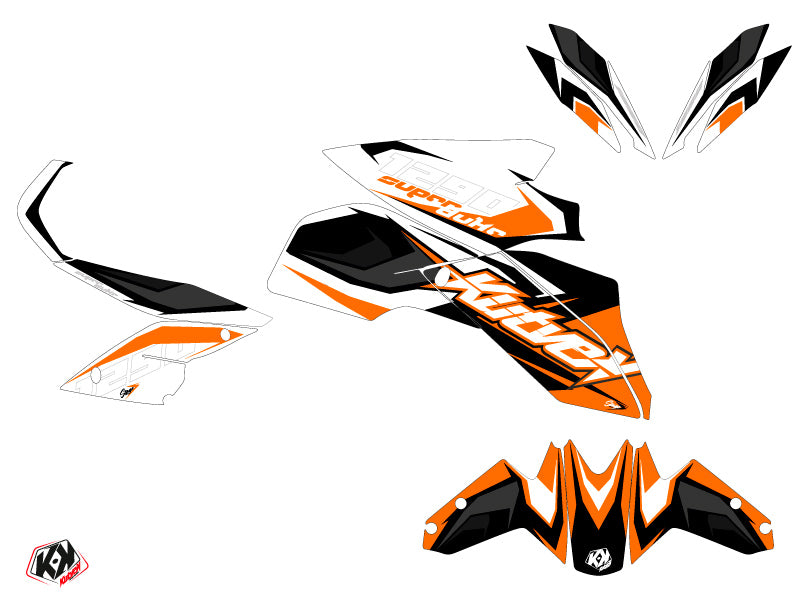 KTM Super Duke 1290 R Stage Graphic Kit Orange