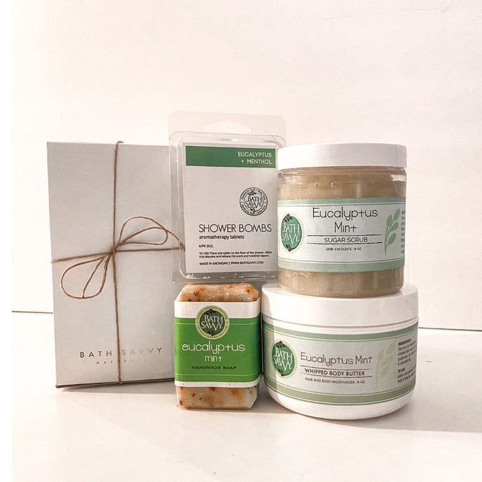 Eucalyptus Mint Everything Gift Set