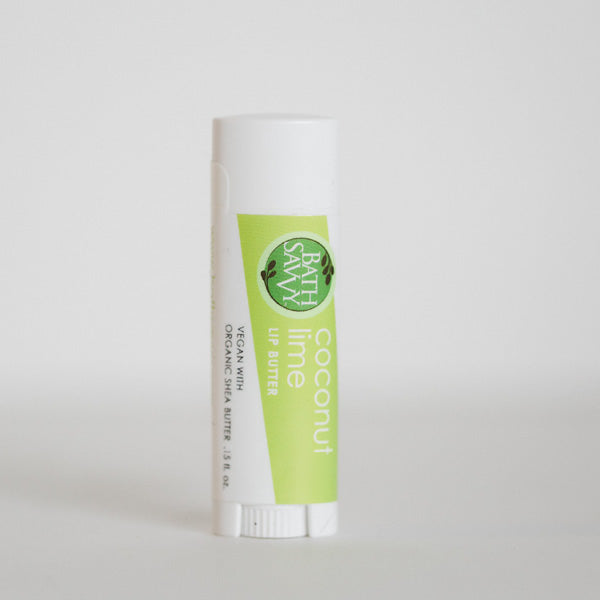 Coconut Lime Lip with Butter Bath Savvy