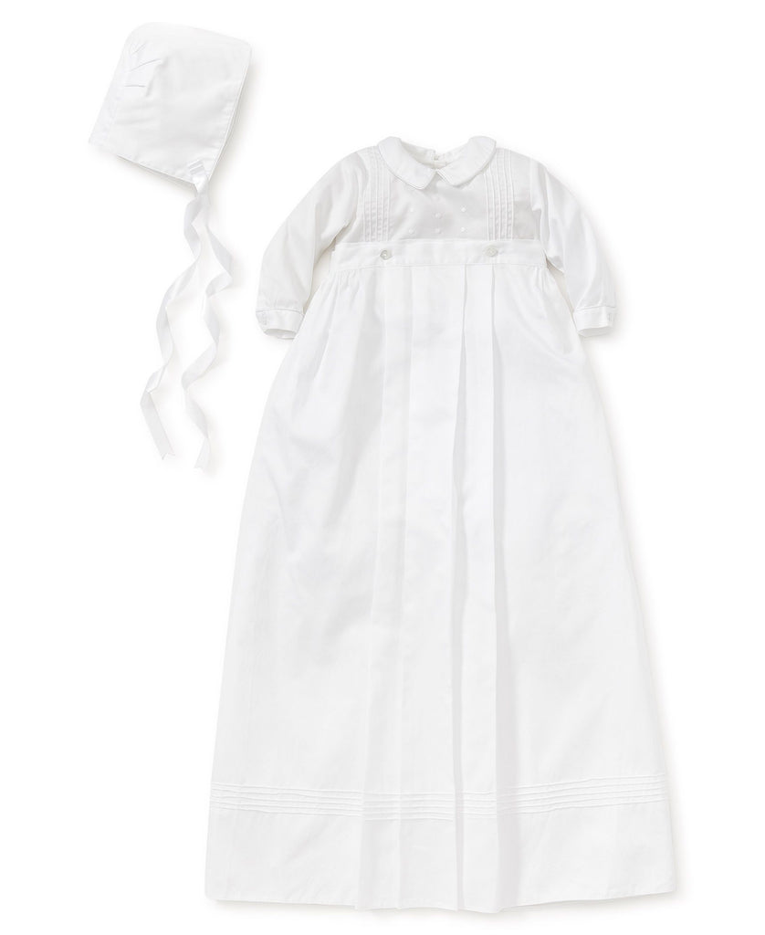 Kissy Kissy Graham Baptism Long Sleeve Converter Gown & Hat - Mumzie's Children