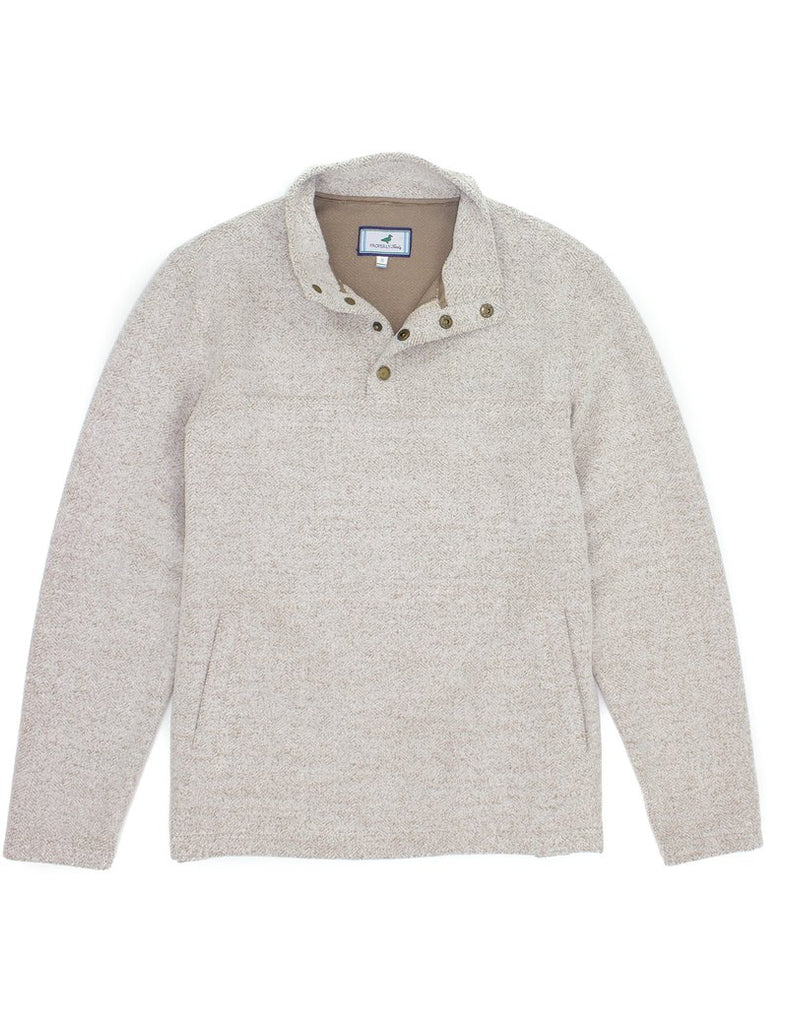 Properly Tied- Upland Pullover Cream - Mumzie's Children
