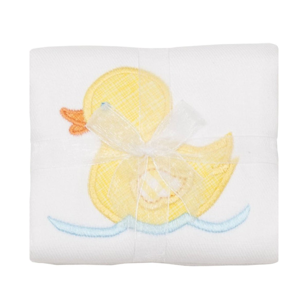 Applique Burp Cloth- Yellow Duck