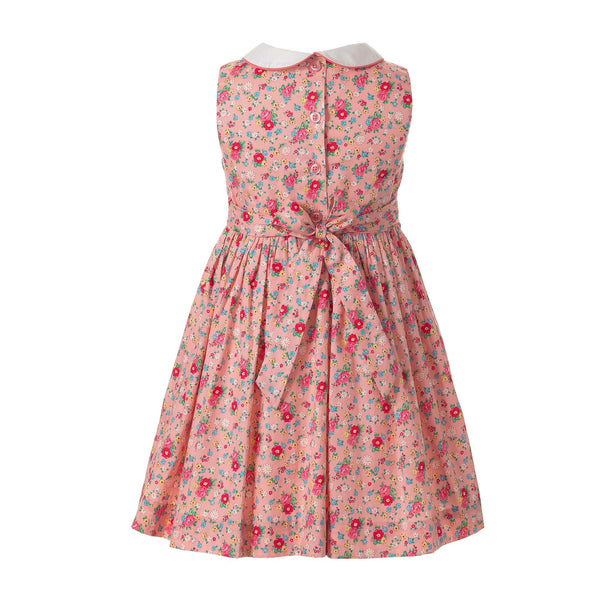 Rose Peter Pan Collar Dress & Bloomer - Mumzie's Children