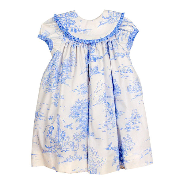 Blue Belle Toille Float Dress - Mumzie's Children