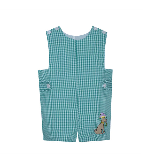 Green Carnival Dog Shortall