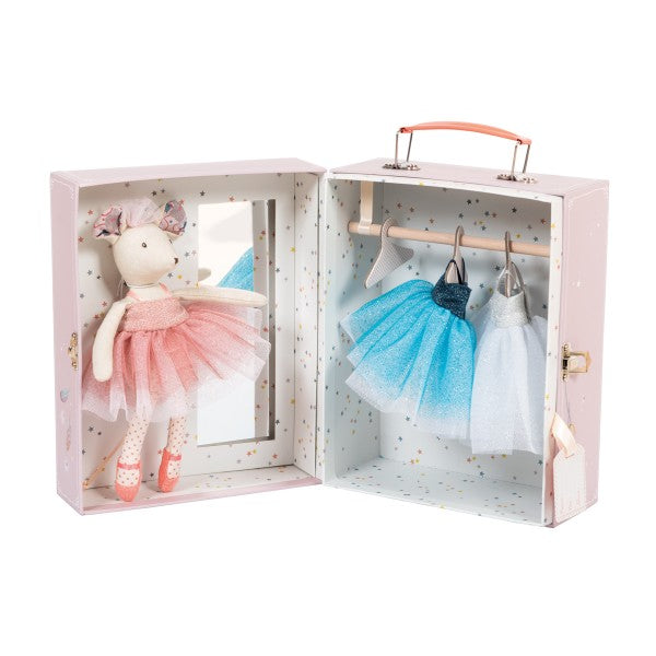 Ballerina Mouse Valise - Mumzie's Children