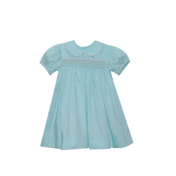 Michelle Seafoam Dress - Mumzie's Children