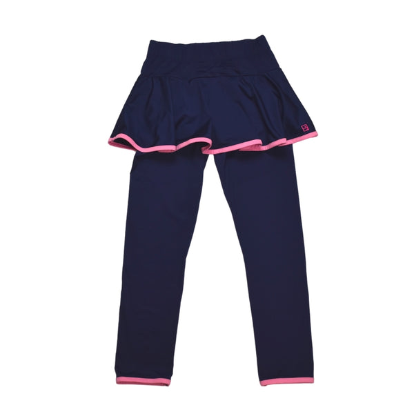 Quinn Legging/ Skirt Set- Navy - Mumzie's Children