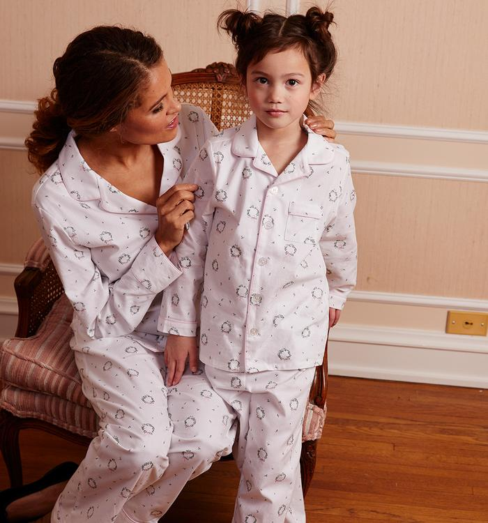 Petite Plume- Somerset Wreath Pajamas - Mumzie's Children