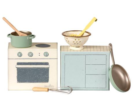 Maileg Cooking Set, Mini - Mumzie's Children