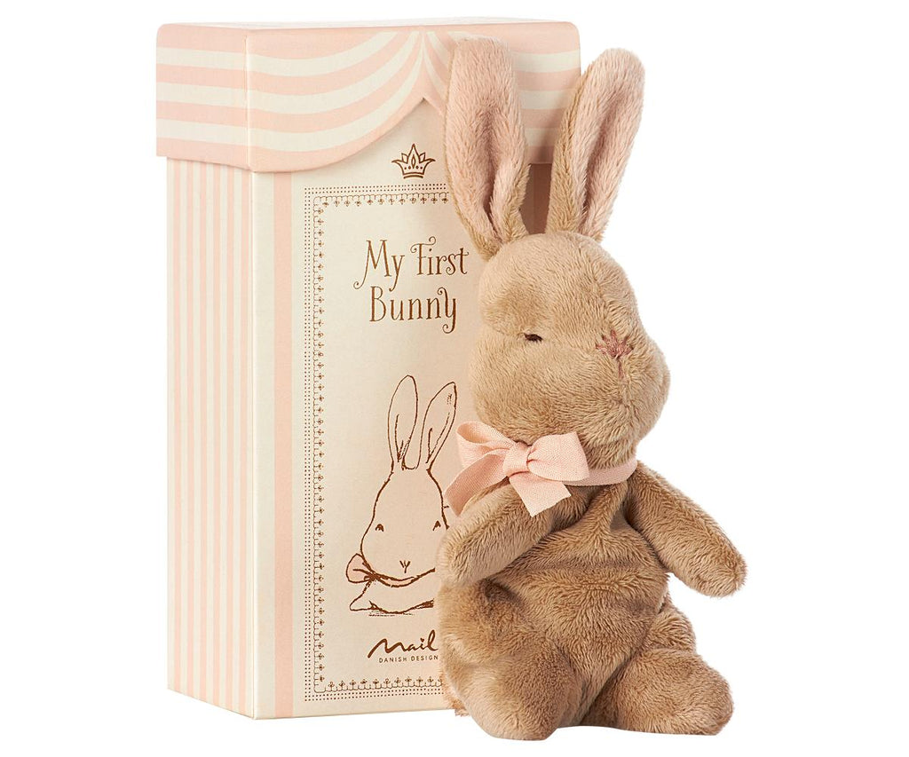 My First Bunny in Box- Rose