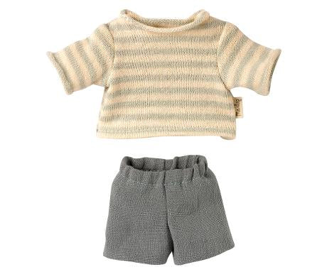 Maileg Preorder Blouse and Shorts for Teddy Junior - Mumzie's Children