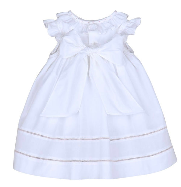 Sugarbelle Ruffle Dress- White - Mumzie's Children