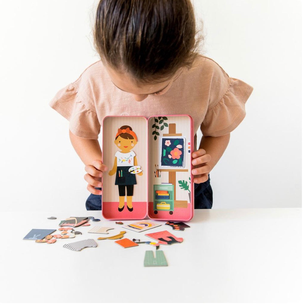 Magnetic Dress Up Kit- Art - Mumzie's Children