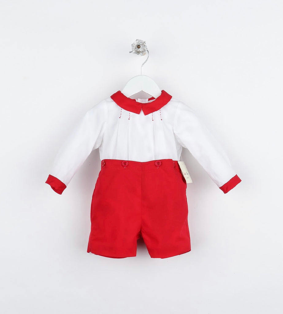 Tis the Season Teddy Set- Red - Mumzie's Children