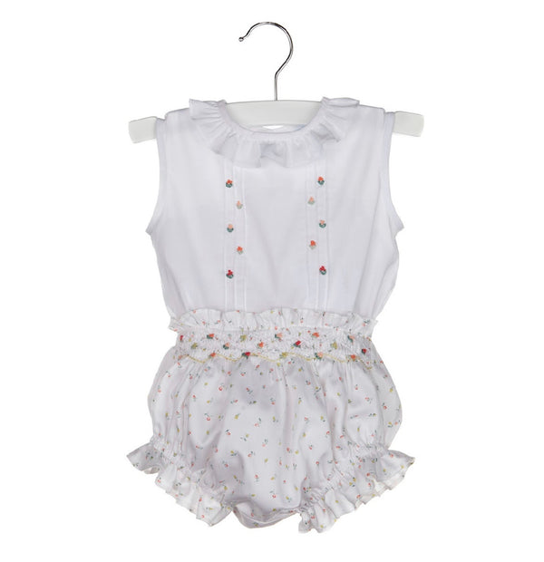 Smock Rosebuds Set - Mumzie's Children