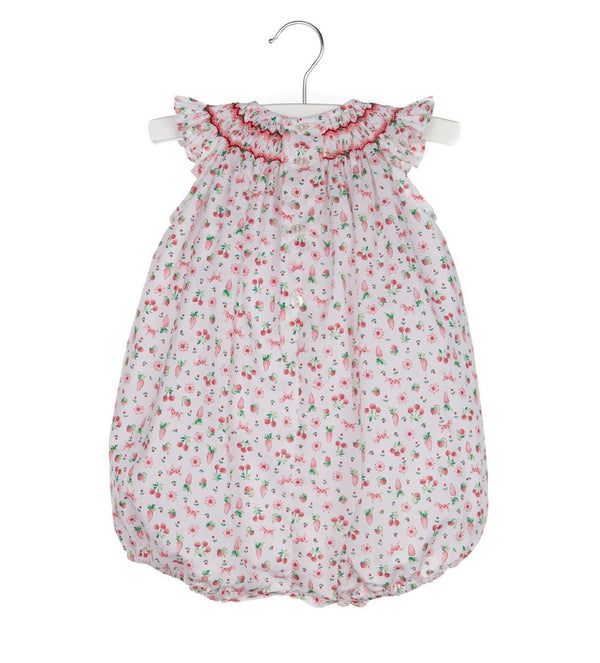 Berries Smock Bubble- Red