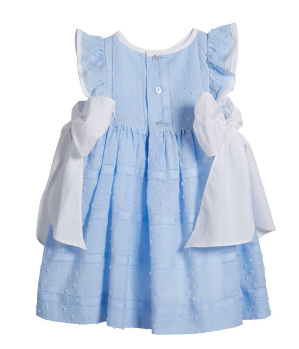 Plumeti Dress- Blue - Mumzie's Children