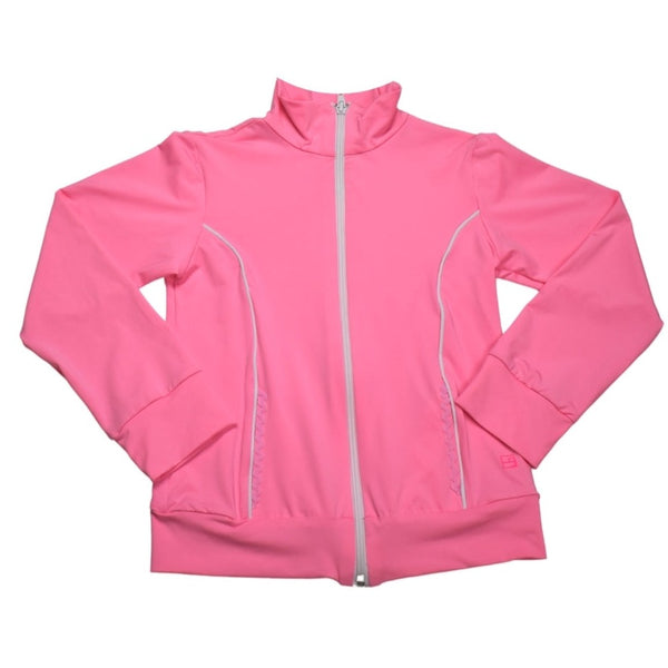 Juliet Dry Fit Jacket- Light Pink & White - Mumzie's Children