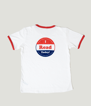I Read Today Short Sleeve Youth T-shirt