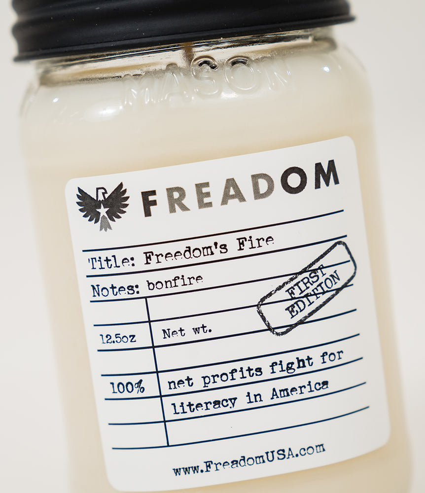 """Freedom's Fire"" Candle"