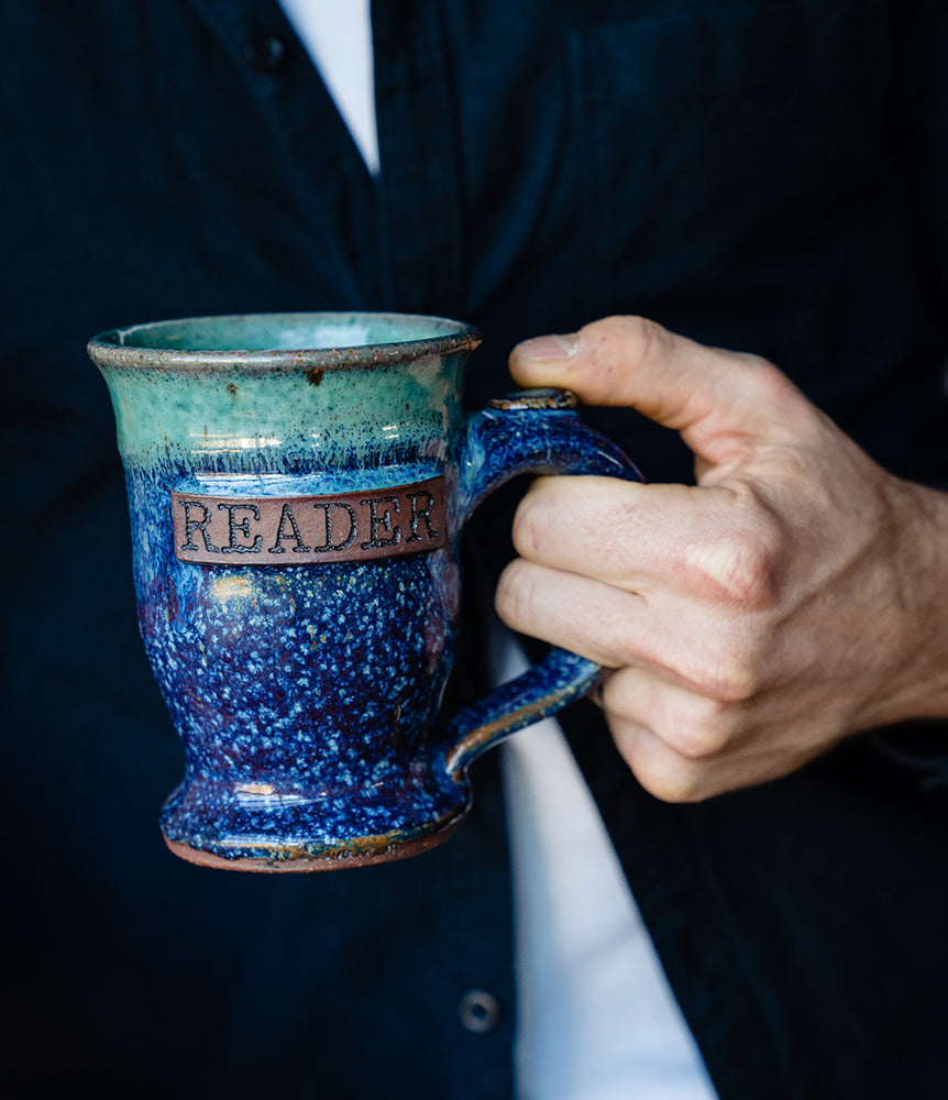 "Freadom ""READER"" Coffee Mug"