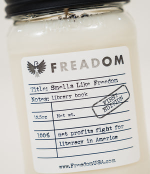 """Smells Like Freedom"" Candle"