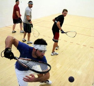 Sean uses TeaZa to curb cravings for tobacco when he plays racquetball.