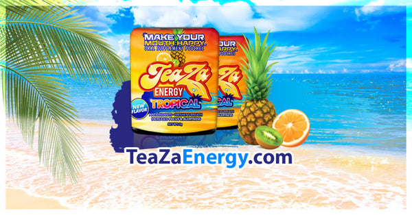 TeaZa® Energy's New Limited Edition Flavor Available Now!