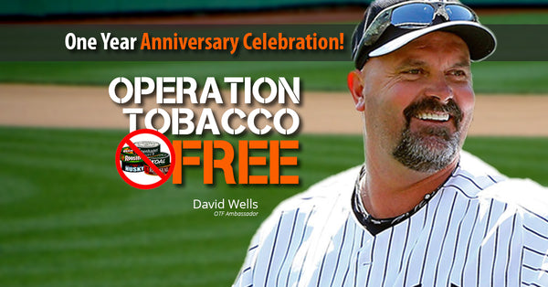 Happy Anniversary Operation Tobacco Free!