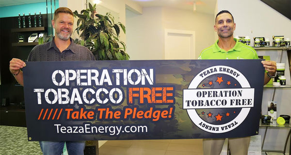 Operation Tobacco Free is on a mission!