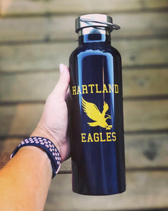 Hartland Eagles Stainless Steel Water Bottle