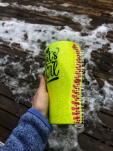 Load image into Gallery viewer, 30 oz Softball Mama Tumbler