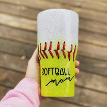 Load image into Gallery viewer, 30 oz Softball Mom + Baseball Mom Tumbler