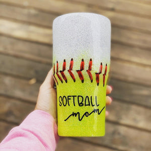 30 oz Softball Mom + Baseball Mom Tumbler