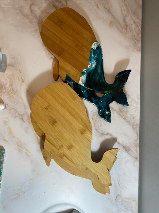 5 pack Whale Cutting Boards