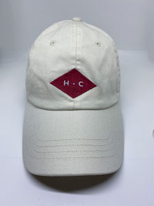 Gorra rombo HC off white