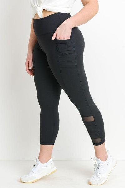 """Crown Mesh"" Leggings and Pockets"