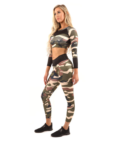 Camostone Set - Sports Bra & Leggings