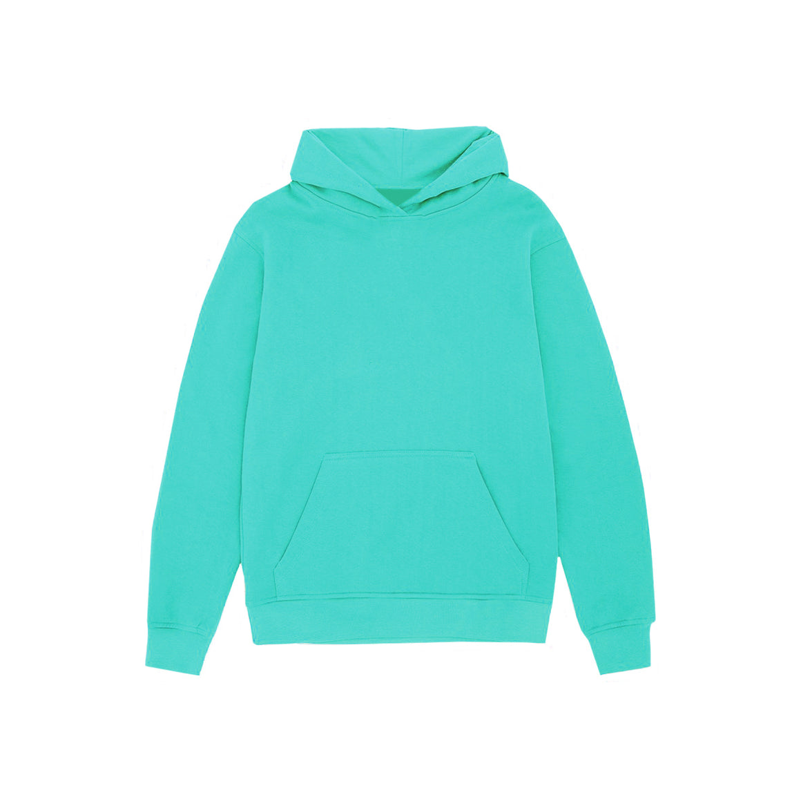 UNBRANDED ESSENTIAL PULLOVER HOODY | TURQUOISE BLUE