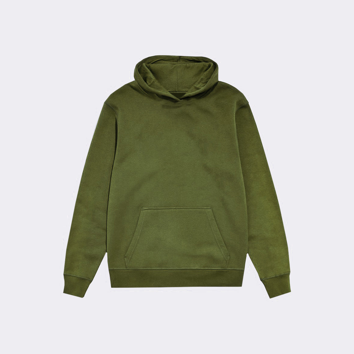 UNBRANDED ESSENTIAL PULLOVER HOODY | KHAKI GREEN